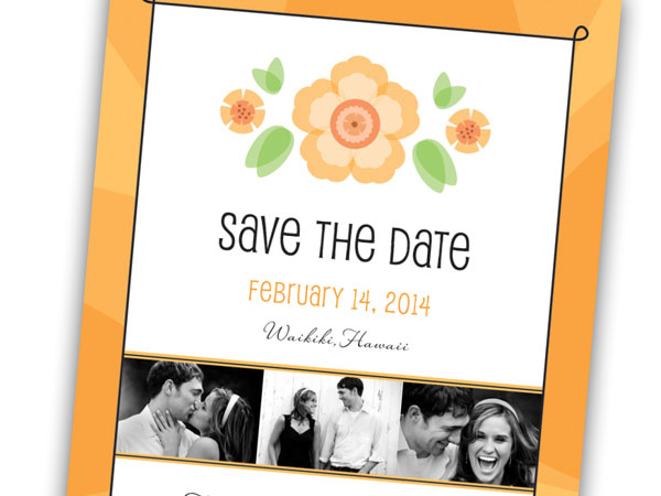 flower 31 Lovely Save The Date Templates