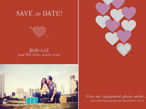 nice color 31 Lovely Save The Date Templates