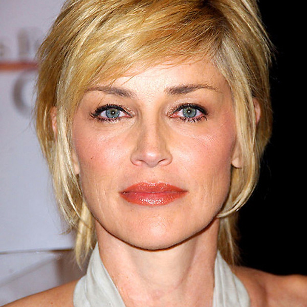 glam hairstyle 26 Encouraging Sharon Stone Short Hair Styles