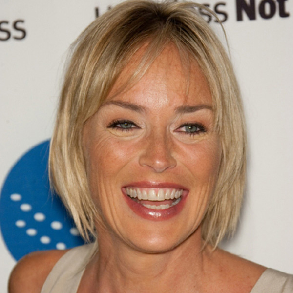 pretty short hairstyle 26 Encouraging Sharon Stone Short Hair Styles