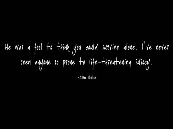 Twilight Alice Quote