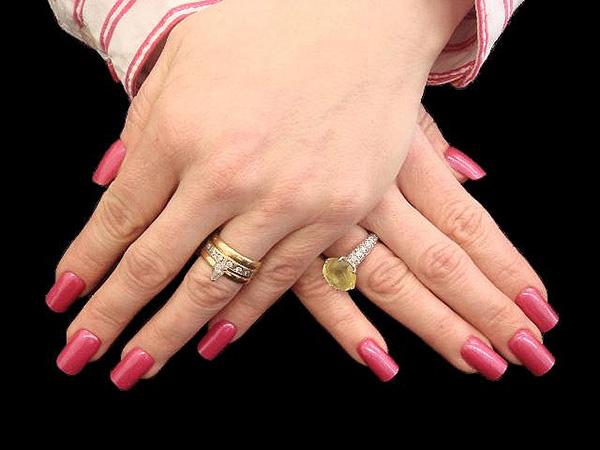 full nail hot pink 29 Enthusiastic Simple Nail Art Ideas