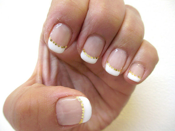 gel nail 29 Enthusiastic Simple Nail Art Ideas