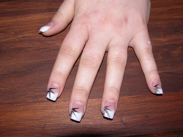 nail extensions 29 Enthusiastic Simple Nail Art Ideas