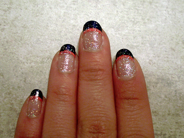simple nail art 29 Enthusiastic Simple Nail Art Ideas
