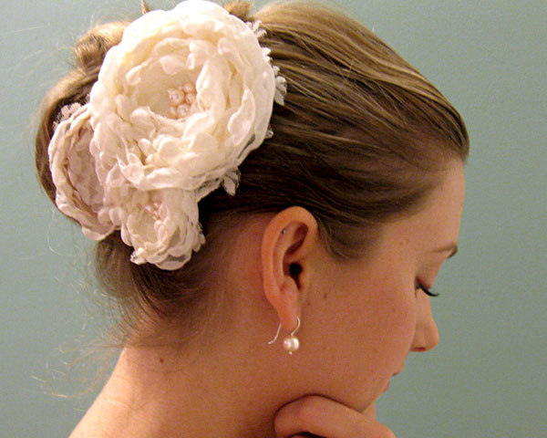 Puffy Hairstyle Bridal