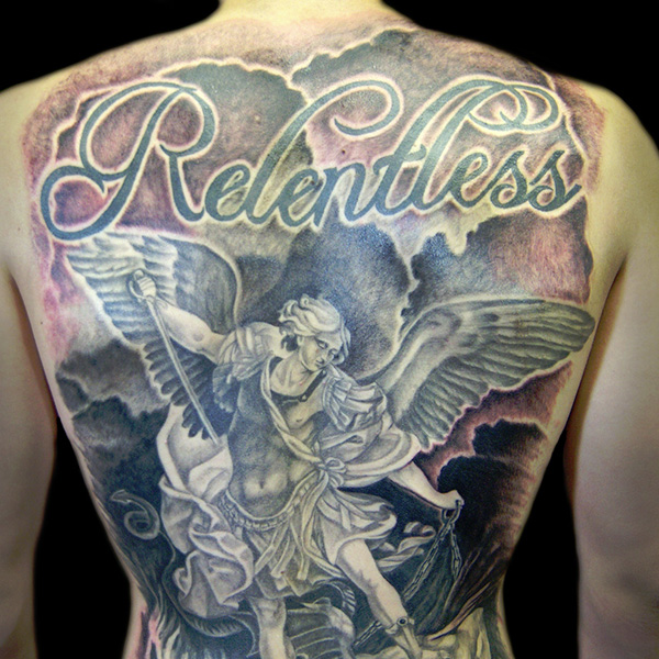 Full Back Tattoos