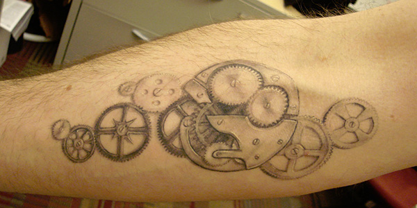 steampunk tattoos 27 Incredible Steampunk Tattoo Idea Collection