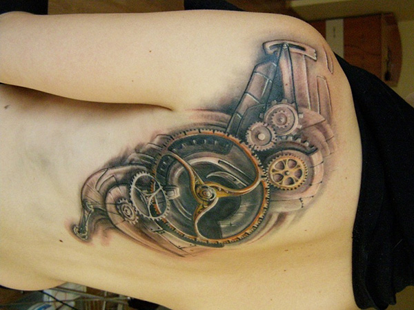 steampunk work 27 Incredible Steampunk Tattoo Idea Collection