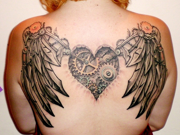 very steampunk tattoo 27 Incredible Steampunk Tattoo Idea Collection