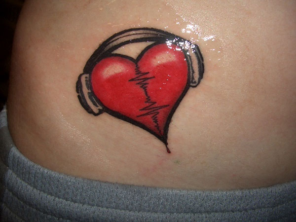 Music Red Heart