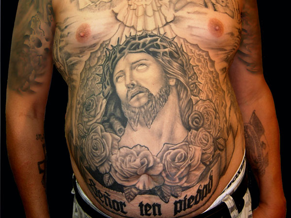zesus 26 Original Stomach Tattoos For Men