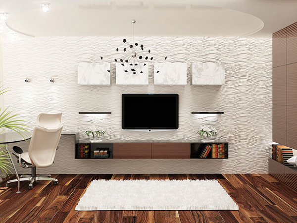 design ideas for wall mounted tv | My Web Value