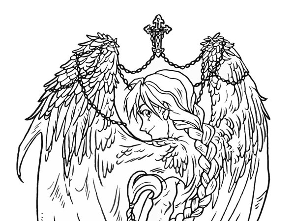 Divine Angel Drawing
