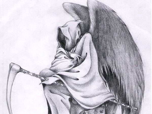 death 34 Magical Tattoo Drawings