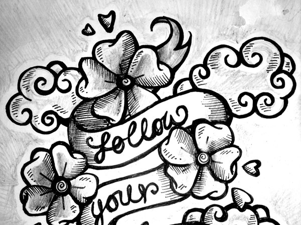little flower 34 Magical Tattoo Drawings