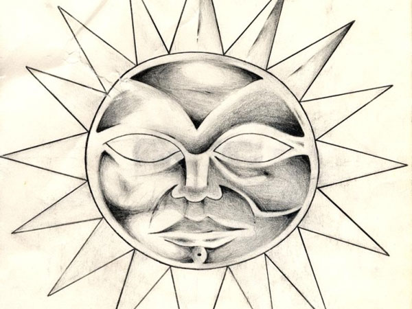 Animated Sun Face