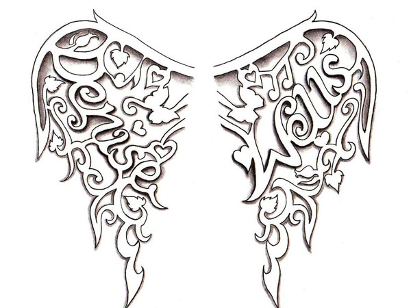 wing 34 Magical Tattoo Drawings