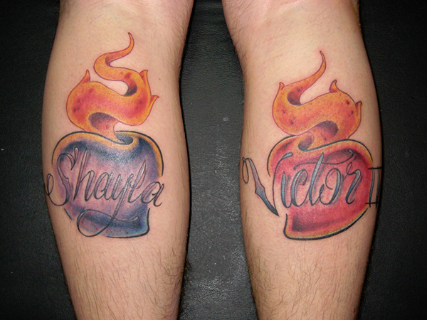 Kids Names Tattoo
