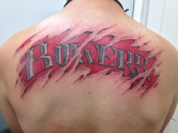Badass Name Tattoo