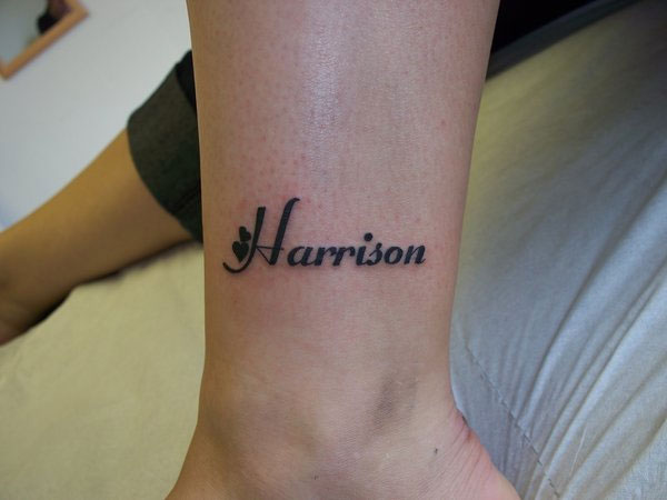 harison 24 Adorable Tattoos With Kids Names