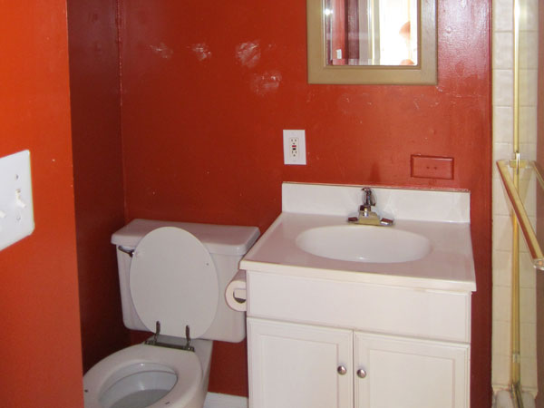 Small Bathroom Ideas Red 26 astounding tiny bathroom ideas