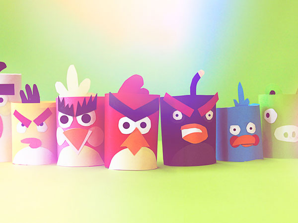 An Army of Angry Birds