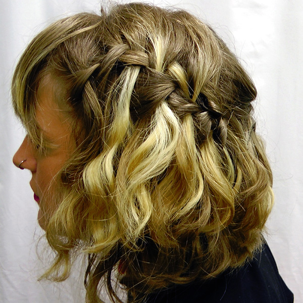 Hairstyles For Short Hair Plaits : 26 Sweet Waterfall French Braid Hairstyles - SloDive