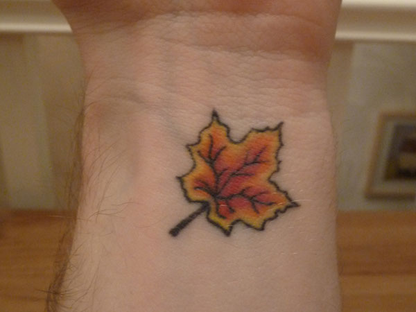 Leaf Tattoo