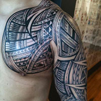 26 Ornamental Arm Tribal Tattoos