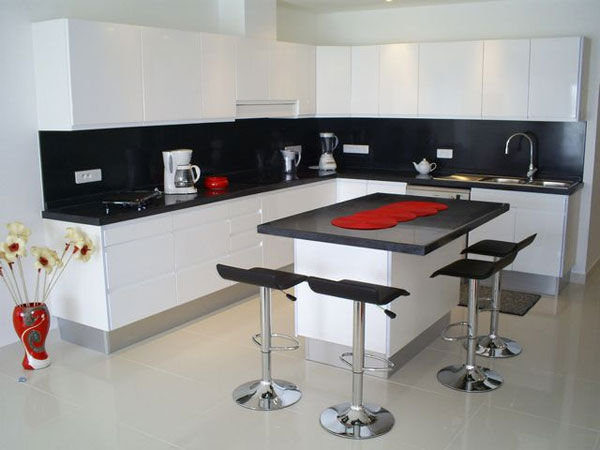 27 perfect black and white kitchen