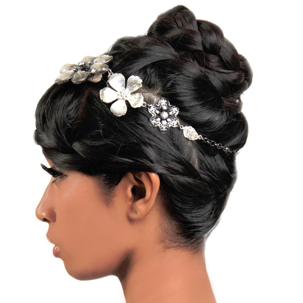 wedding updo hairstyles black hair MEMEs