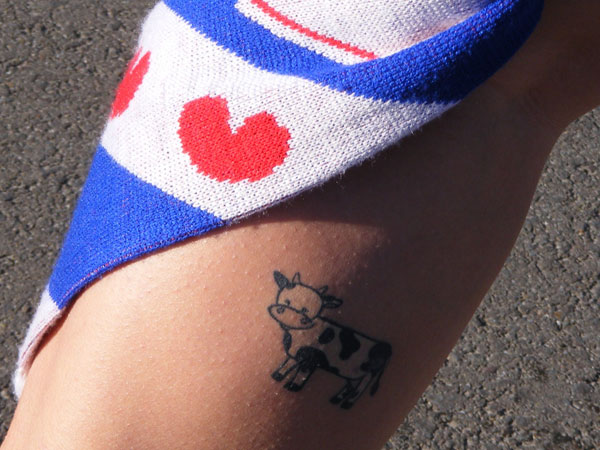 Dairy Cute Tattoo