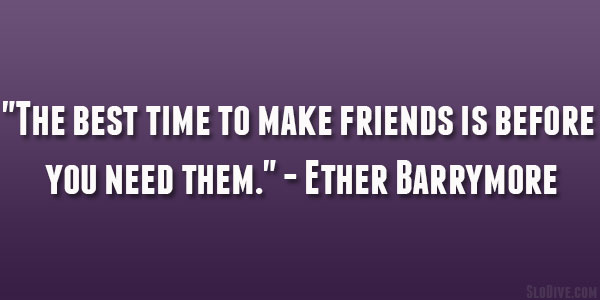 Ether Barrymore Quote
