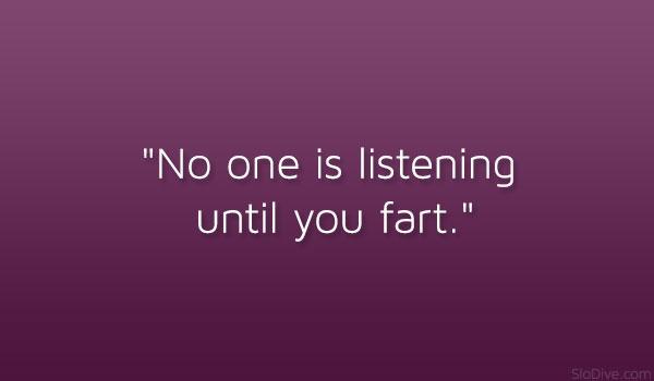 Listening Until