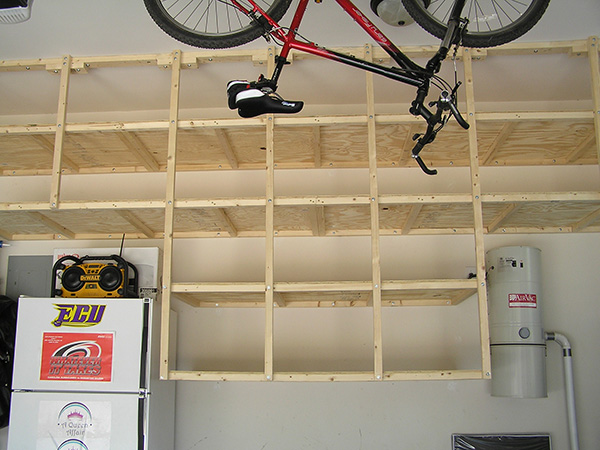 Another New Garage Shelf Idea