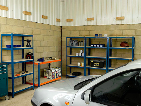 Styling Garage Shelves