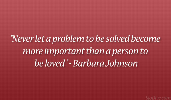 Barbara Johnson Quote
