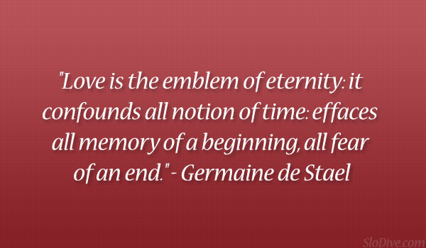 Germaine De Stael Quote