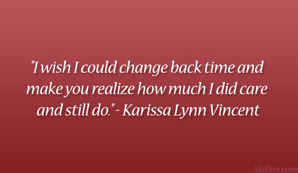 Karissa Lynn Vincent Quote