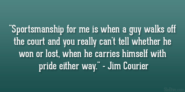 Jim Courier Quote