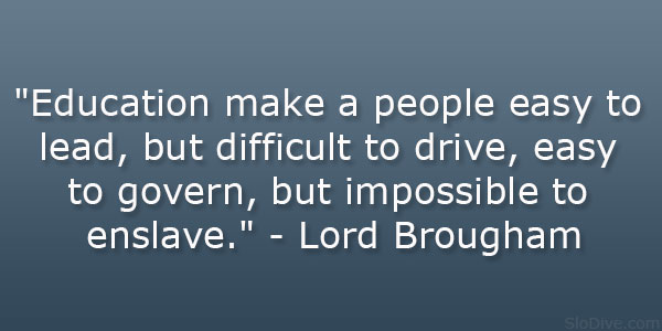 Lord Brougham Quote