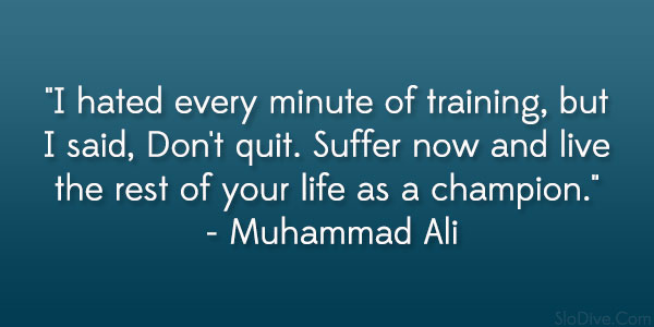 Muhammad Ali Famous Quotes of People