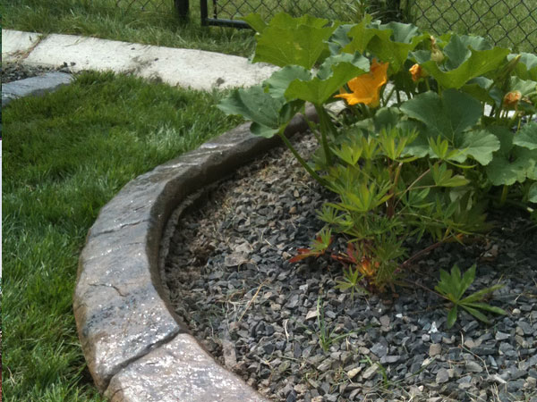 Rock landscape edging ideas pictures to pin on pinterest
