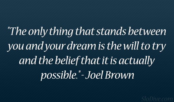 Joel Brown Quote