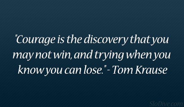 Tom Krause Quote