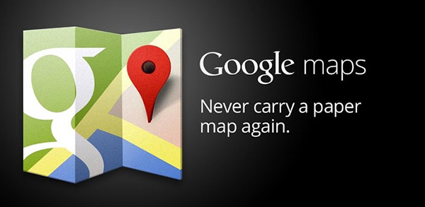 google maps 29 Most Useful Android Apps