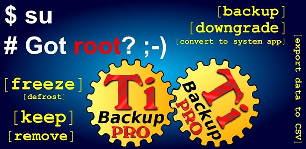 titanium backup pro 29 Most Useful Android Apps