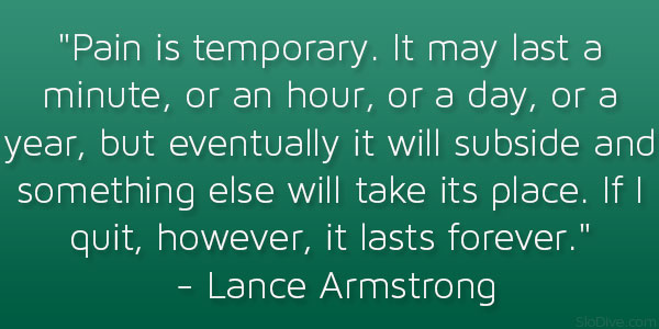 Lance Armstrong Quote