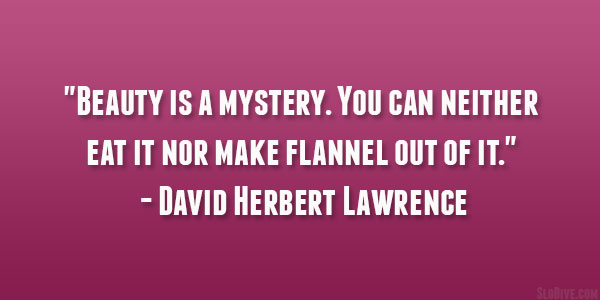 David Herbert Lawrence Quote